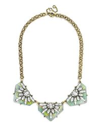 BaubleBar | Metallic 'crystal Prism' Collar Necklace - Antique Gold | Lyst