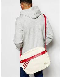 Adidas Originals   Red Retro Messenger Bag for Men   Lyst