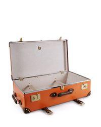 "Globe-Trotter - Orange Centenary 30"" Extra Deep Wheeled Suitcase - Lyst"