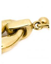 Vaubel | Metallic Oval Link Chain Bracelet | Lyst