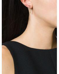 Bukkehave | Metallic Bar Earrings | Lyst