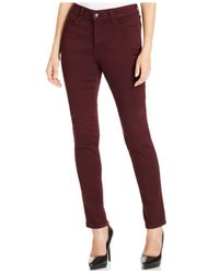 NYDJ | Brown Petite Alina Denim Leggings | Lyst