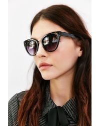 Urban Outfitters - Gray Traveler Cat-eye Sunglasses - Lyst