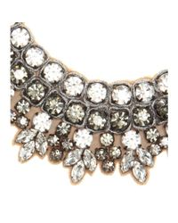 Valentino - Metallic Crystal-embellished Necklace - Lyst