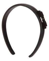 Ferragamo - Black Hair Band - Lyst