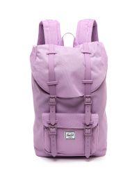 Herschel Supply Co. - Purple Little America Mid Backpack  Mauve - Lyst