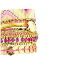 Hipanema | Multicolor Amor Friendship Bracelet | Lyst
