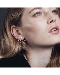 Smith/grey - Metallic Simone Earrings Gold - Lyst