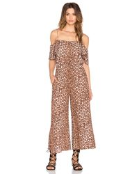 Zimmermann | Multicolor Alchemy Flounce Jumpsuit | Lyst