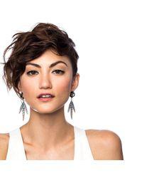 Lulu Frost - Metallic Nicandra Drop Earring - Lyst