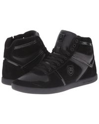 The Kooples | Black Sport Smooth And Split Leather Sneaker for Men | Lyst
