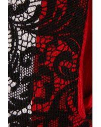 Markus Lupfer - Black Lace Effect Merino Wool Track Pants - Lyst