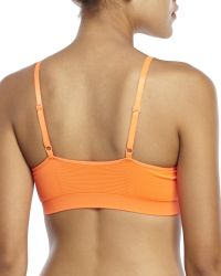 New Balance | Orange T-Shirt Bra | Lyst
