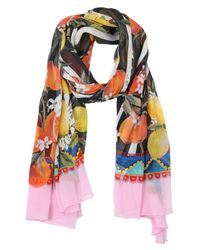 Dolce & Gabbana | Blue Square Scarf | Lyst