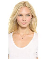 Katie Rowland   Pink Java Mini Pendant Necklace Rose Gold Multi   Lyst