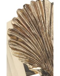Fausto Puglisi - Metallic Gold Shell Cuff - Lyst