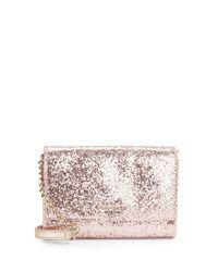 Kate Spade | Pink Cami Glitter Crossbody | Lyst