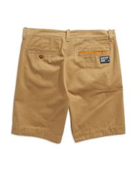 Superdry | Natural Cotton Chino Shorts for Men | Lyst