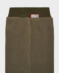 HUNTER - Green Fitted Boot Socks - Long for Men - Lyst