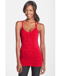 Zella | Red 'trend' Seamless Tank | Lyst