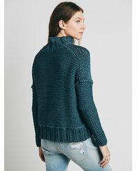 Free People | Gray Womens Coco Cocoon Cardigan | Lyst