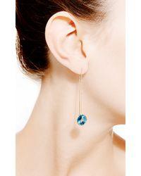 Janis Savitt - Thread London Blue Topaz Earrings - Lyst