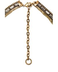Lionette - Metallic Giza Necklace - Lyst