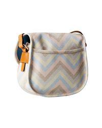 Dooney & Bourke - Multicolor Claremont Multi Chevron Field Bag - Lyst