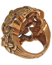 Stephen Dweck | Metallic Bronze Oval Rutilated Quartz Ring | Lyst