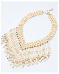Nakamol - Multicolor Flair Necklace-peach - Lyst