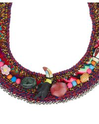 Venessa Arizaga - Red Dragonfly Charms Necklace - Lyst
