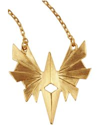 Maria Black - Metallic Flare Gold-Plated Necklace - Lyst