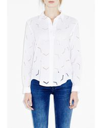 M.i.h Jeans - White Arrow Shirt - Lyst