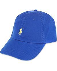 Ralph Lauren - Blue Classic Pony Baseball Cap, Men's, Pacific Royal for Men - Lyst
