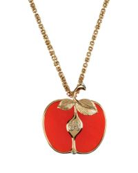 Sonia Rykiel - Red Necklace - Lyst