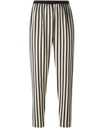 Forte Forte | Blue Striped Trousers | Lyst