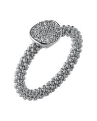 Links of London - Metallic Star Dust Silver Round Ring - Lyst