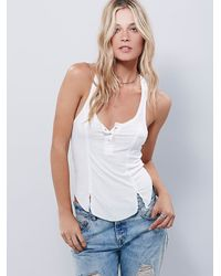 Free People | White Mercy Tank | Lyst