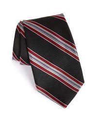 Nordstrom - Black 'downhill Skier' Stripe Silk Tie for Men - Lyst
