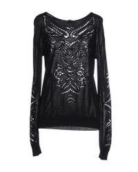 Ermanno Scervino - Black Sweater - Lyst