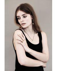 Rachel Entwistle   Metallic Modern Primitive Pendant Gold   Lyst