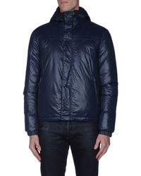 Patrizia Pepe - Blue Down Jacket for Men - Lyst