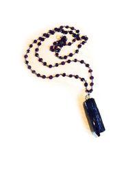Julie Tuton Jewelry | Black Tourmaline Pendant | Lyst