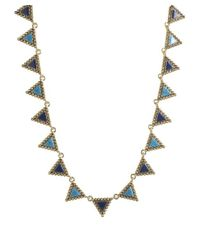 House of Harlow 1960 | Blue Native Legends Collar Necklace | Lyst