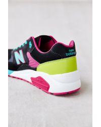 New Balance - Black Mrt580 Neon Lights Sneaker for Men - Lyst
