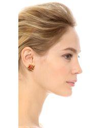 Erickson Beamon | Multicolor Razor's Edge Earrings - Multi/gold | Lyst