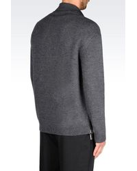 Emporio Armani | Gray Cardigan for Men | Lyst