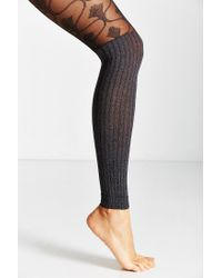 Urban Outfitters - Black Baroque Sheer Sweater Tight - Lyst