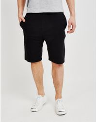 Calvin Klein | Utility Pant Cuffed Black for Men | Lyst