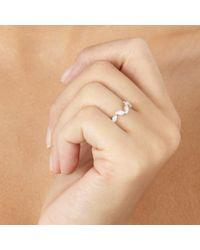 Astley Clarke - Metallic Falling Leaf Ring - Lyst